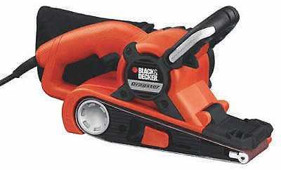 BLACK+DECKER DS31 Dragster 7 Amp 3-Inch by 21-Inch Belt Sander with Clot